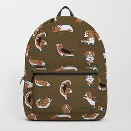 Beagle Yoga Backpack
