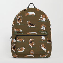 Beagle Yoga Backpack