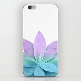 Mermaid Agave on White #1 #tropical #decor #art #society6 iPhone Skin