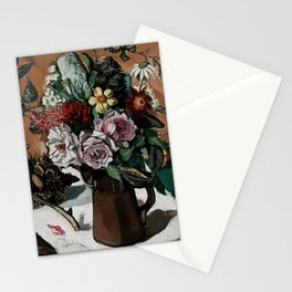 """""""Roses and Banksia"""" by Margaret Preston Stationery Cards"""