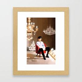 "iKON's Chan ""Killing me"" Framed Art Print"