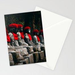 Nikko Jizo Statues Stationery Cards