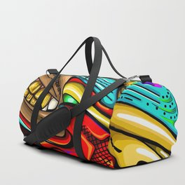 Smile of the phoenix Duffle Bag