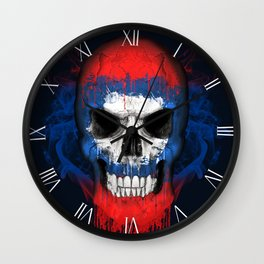 To The Core Collection: Laos Wall Clock