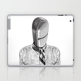 Pill Addict with Painkiller Head. Laptop & iPad Skin