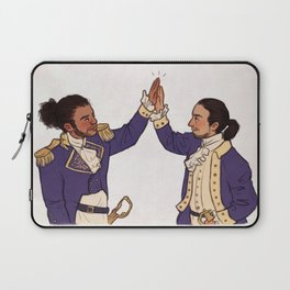 Immigrants - we get the job done Laptop Sleeve