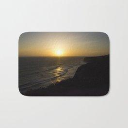Cliff Top Sunset Bath Mat