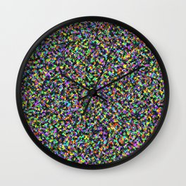 Black Opal Wall Clock