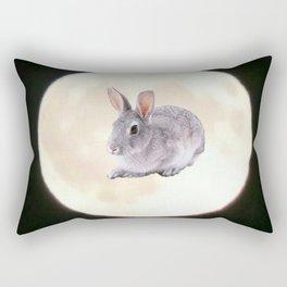 Moonrabbit 5 Rectangular Pillow