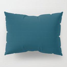 Dark Blue Green / Teal Pillow Sham