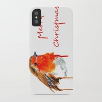 robin iPhone & iPod Cases featuring Robin by Paint the Moment