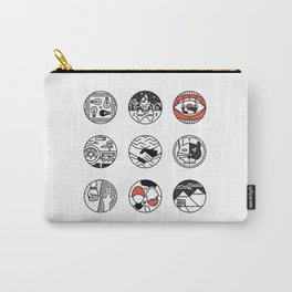 blurry icons Carry-All Pouch