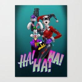 HA! Canvas Print
