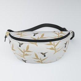 Hummingbird & Flower II Fanny Pack
