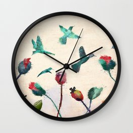 sweet agony Wall Clock