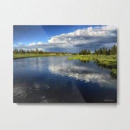 Madison River - Montana Metal Print