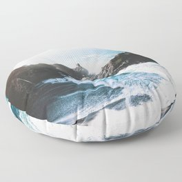 ocean falaise Floor Pillow