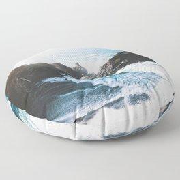 ocean falaise Floor Pillow