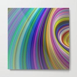 Colorful Storm Metal Print