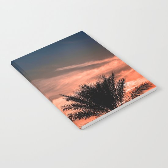 Palm Sunset Notebook