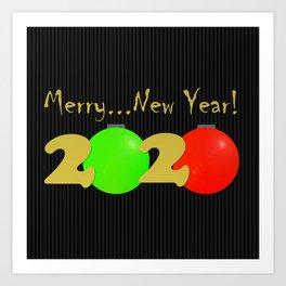 Merry...New Year! Art Print
