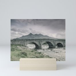 The Bridge and the Cuillin Mini Art Print