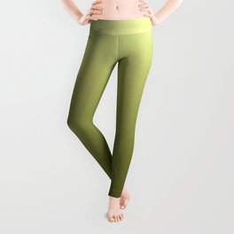 Yellow Olive Green Backgrund Leggings