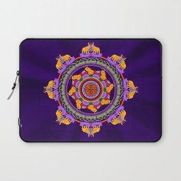The Lu Mandala; Prosperity & Success Laptop Sleeve