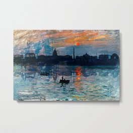 Washington Skyline 1 Metal Print