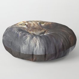 Lion Floor Pillow