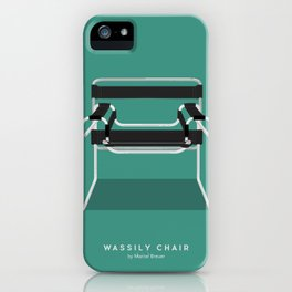 Wassily Chair - Marcel Breuer iPhone Case