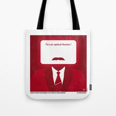 No278 My Anchorman Ron Burgundy minimal movie poster Tote Bag