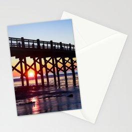 Sunrise Morning Walk Stationery Cards