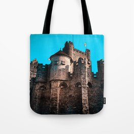 Gravensteen Ghent Castle Tote Bag