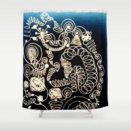 Black Book Series - Endless 02 Shower Curtain