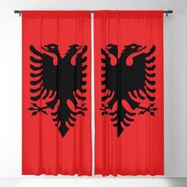 Flag of Albania - Albanian Flag Blackout Curtain