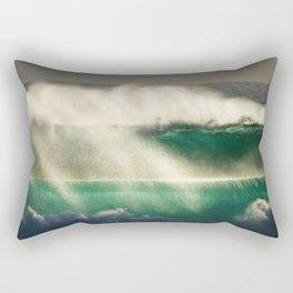 Almighty ocean Rectangular Pillow