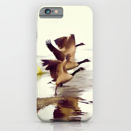 The Take Off - Wild Geese iPhone Case