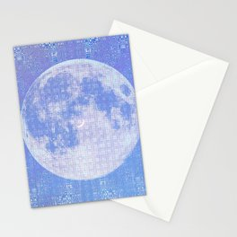 Magick Square Moon Invocation Stationery Cards
