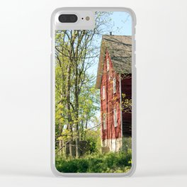 disconnected mill Clear iPhone Case