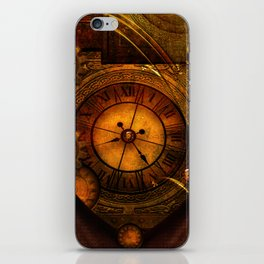 Awesome noble steampunk design iPhone Skin