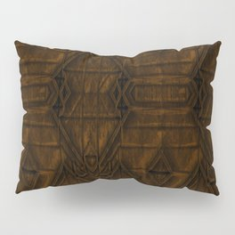 Coppery African Pyramid Pillow Sham