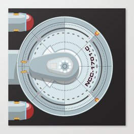 Enterprise - Star Trek Canvas Print