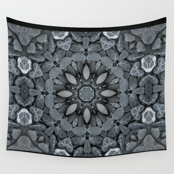 Rock Star Mandala Wall Tapestry