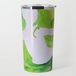 Green Woman Travel Mug