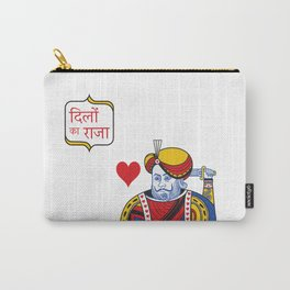Dillo ka Raja (Indian King of Hearts)  Carry-All Pouch