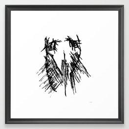 all can be sad Framed Art Print