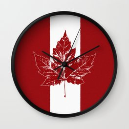 Cool Canada Souvenirs Wall Clock