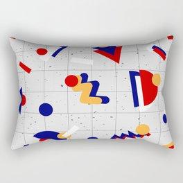 Memphis geometric pattern Rectangular Pillow