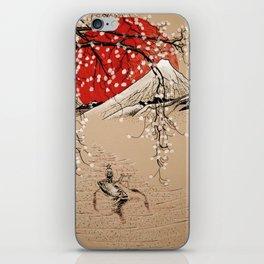 Japan Fishermen iPhone Skin